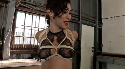Master, X master, Tits tied, Tied tits, Rope
