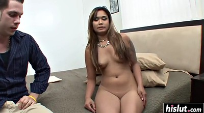 Small cock, Asian big cock, Asian big tits