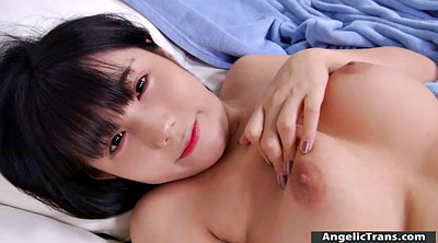 Asian solo, Asian shemale, Couch, Asian masturbating