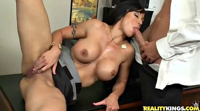 Double penetration, Office anal, Milf big ass, Ass lick