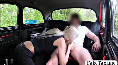 Taxi, Blonde, Free, In car, Passenger