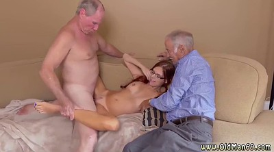 Grannies, Young man, Titties, Do l l, Old man and young, Granny threesome