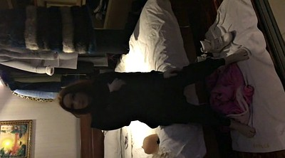 Asian bdsm, Nylons, Catsuit