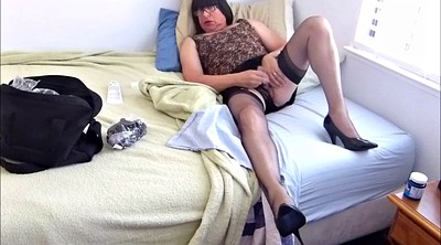 Skirt, Nylon masturbation, Nylon cock, Amateur nylon
