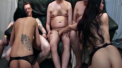Orgy, Party hardcore, German gangbang, First gangbang