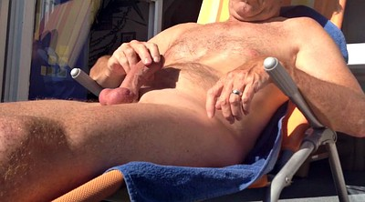 Gay handjob, Balcony