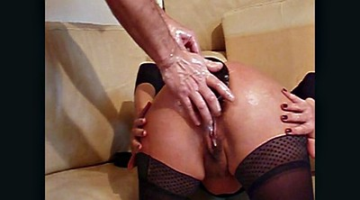 Insertion, Double fisting, Double fist, Insertion anal, Huge toy, Huge toys