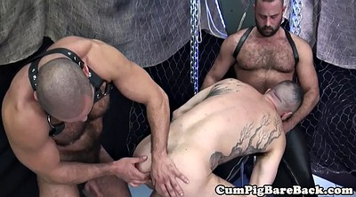 Swing, Rimming, Sex swing, Leather, Gay mature