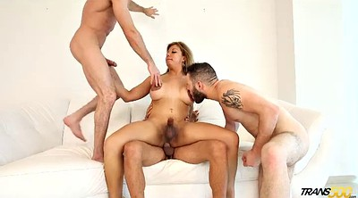 Transsexual, Shemale fuck, Shemale gangbang