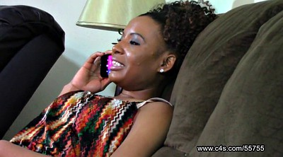Pantyhose, Phone, Pantyhose footjob, Sneaky, On the phone