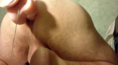 Gape, Fat gay, Anal gape, Anal big dildo, Machines