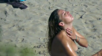 Topless beach, Voyeur shower, Topless, Hidden shower, Hidden cam shower