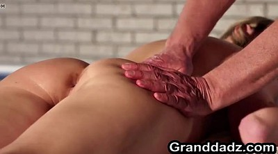 Old granny, Granny massage