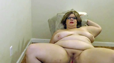 Bbw masturbation, Chubby glasses