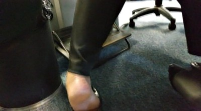 Foot, Foot job, Candid, Flats, Touch, Sole