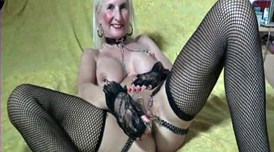 Granny, Chained, Nipples, Chain, Pierced nipple, Chains