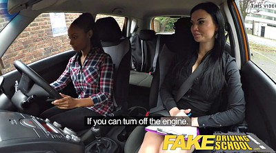 Fake driving school, Driving school, Fake driving school lesbian, Driving, Fake lesbian, Test