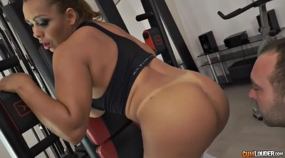 Gym, Ass licking