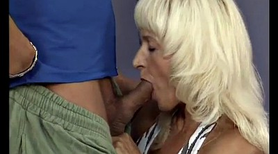 Muscular, Strong, Muscled milf, Granny love