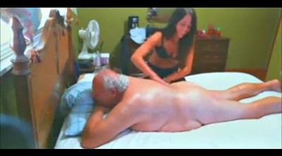 Old man, Escort, Granny massage, Young and old