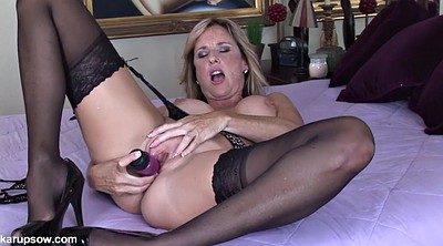 Mature solo, Milf anal