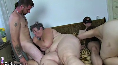 Bbw, Bbw group, Old young, Old lady, Old guy, Group bbw