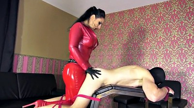 Strapon, Mistress slave, Latex strapon