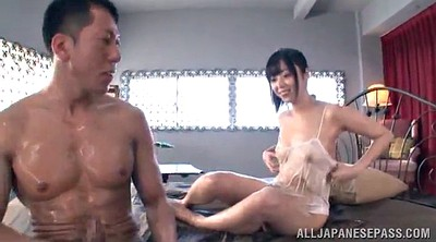 Oily, Asian handjob