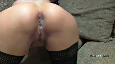 Agent, Casting anal, Stockings blowjob, Stockings anal