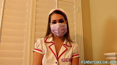 Cosplay, Handjob, Nurse, Glove, Latex gloves, Kimber