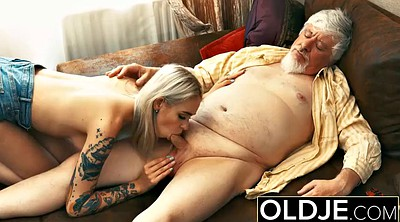 Old man, Pussy lick