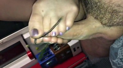 Nylon footjob, Feet nylon
