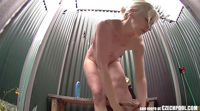 Voyeur shower, Spy camera, Camera, Spy masturbation