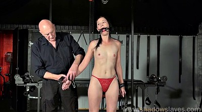 Tied, Tit torture, Restrained