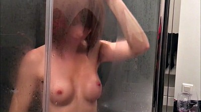 French, Shower, Dildo ride
