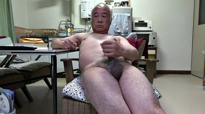 Granny, Asian granny, Japanese handjob, Japanese old man, Japanese big, Big nipples