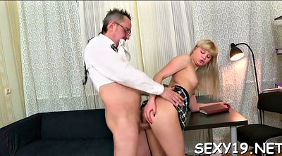 Doggystyle, Teen tits, Russian old