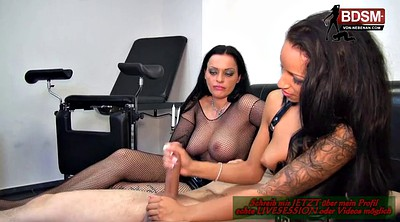 Latex, Cbt, Latex german, Homemade threesome, German threesome, German bdsm