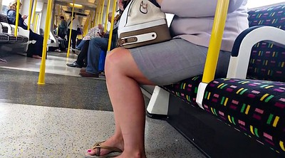Foot, Tube, Candid feet