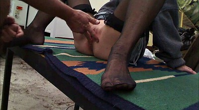 Big clit, Foot nylon