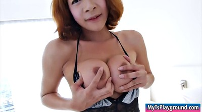 Asian big dick, Shemale asian, Shemale cum