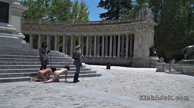 Bondage, Slaves, Made, Naked public