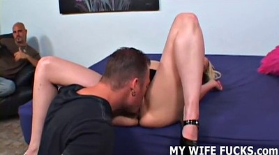 Watching, Stranger, Wife watches, Cuckold femdom