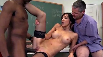 Teacher, Interracial blowjob, Teacher anal, Interracial anal