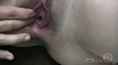 Shower, Fisting pussy, Deep fist