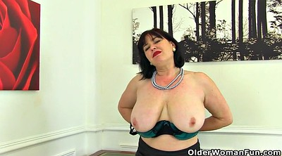British mature, Hairy matures