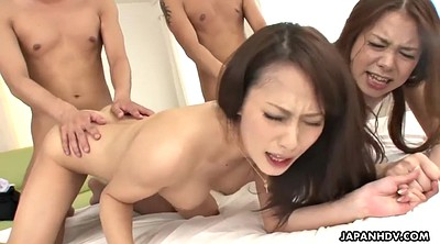 Japanese hairy, Japanese group sex