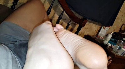 Foot, Amateur wife, Reverse, Amateur wife orgasm