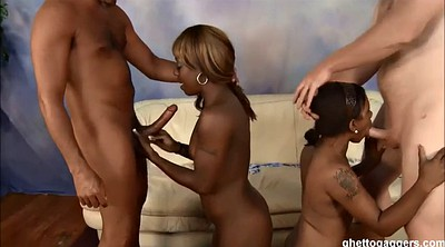 Ebony, Anal group, Ghetto