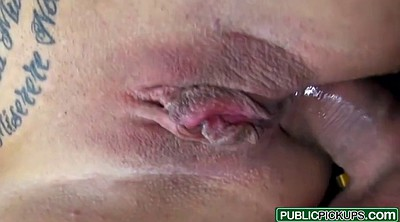 Creampie, Public handjob, Pick up
